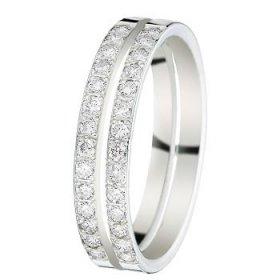 Alliance Diamant Or blanc - 4,5