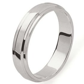 Alliance homme Platine - 5,0