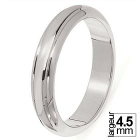 Alliance homme Platine - 4,5