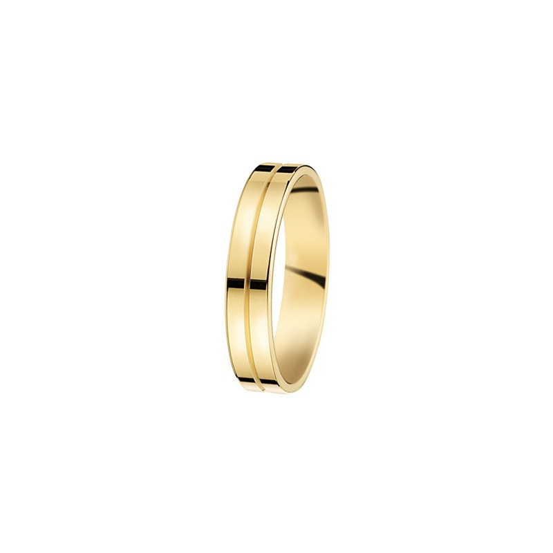 Alliance de mariage en Or jaune - 07031462J