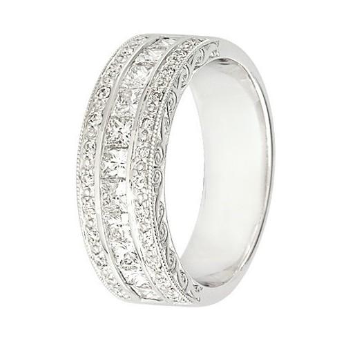 Alliance diamants et Or blanc - 11770761G - Boutique Alliance