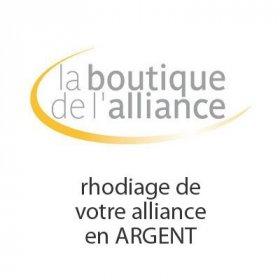 Services - Rhodiage de votre alliance Argent