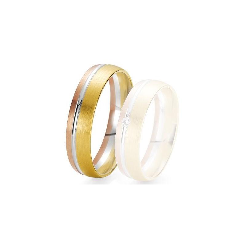Alliance de mariage Breuning - 3 ors 5.5 mm - 1303422255T