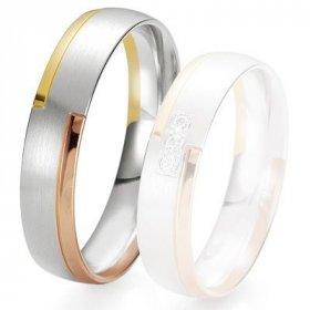 Alliance de mariage Breuning - 3 ors 5.0 mm - 1303422650T