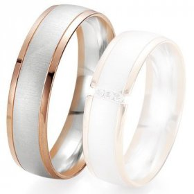 Alliances Breuning - Alliance de mariage Breuning - 2 ors OG/OR 6.0 mm - 1303422860B
