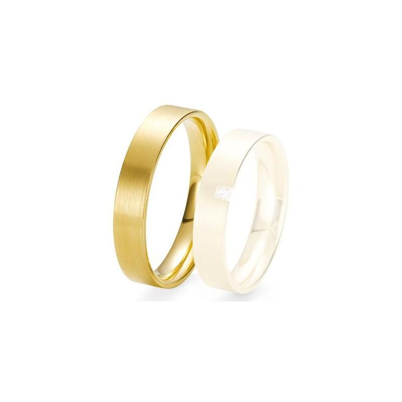 Alliance de mariage Breuning - Or jaune 4.5 mm - 1303423045J