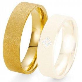 Alliances Breuning - Alliance de mariage Breuning - Or jaune 6.0 mm - 1303423460J