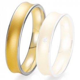 Alliances Breuning - Alliance de mariage Breuning - 2 ors OG/OJ 5.0 mm - 1303425650B