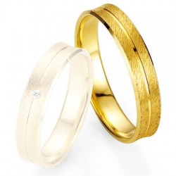 Alliance de mariage Breuning - Or jaune 4.5mm - 1303400245G