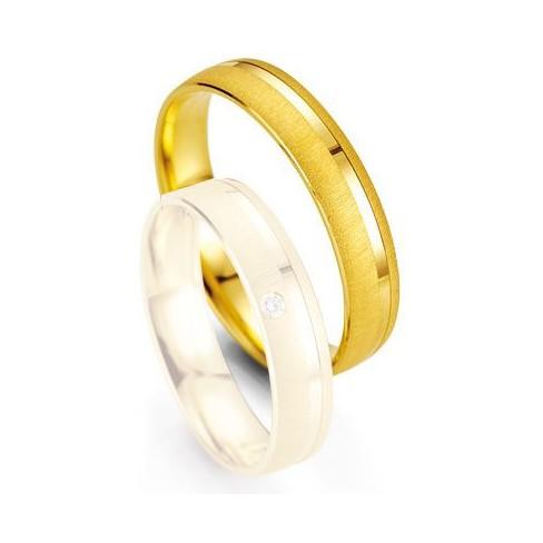 Alliance de mariage Breuning -  Oor jaune 4.5mm - 1303400445G