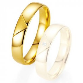 Alliance de mariage Breuning - Or jaune 4.5mm - 1303400845G