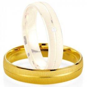 Alliance de mariage Breuning - Or jaune 4.5mm - 1303401045G
