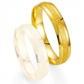 Alliance de mariage Breuning - Or jaune 4.5mm - 48/07014-0