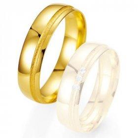 Alliance de mariage Breuning - or jaune 5.5mm - 1303402455G
