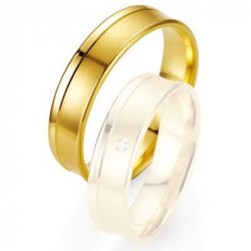 Alliances Breuning - Alliance de mariage Breuning - Or jaune 5.5mm - 1303402855G