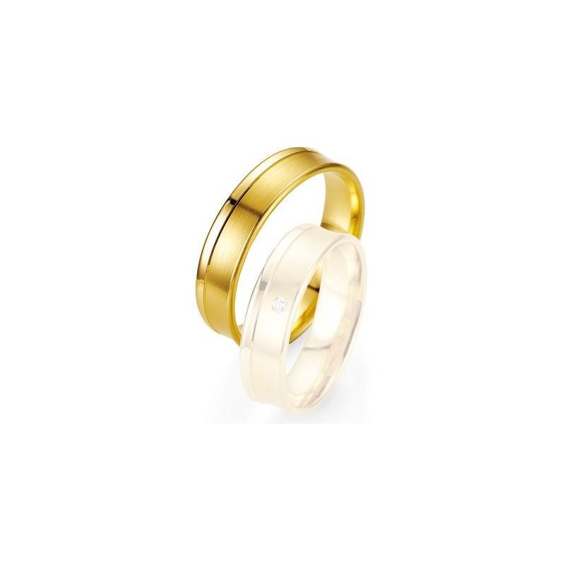Alliance de mariage Breuning - Or jaune 5.5mm - 1303402855G