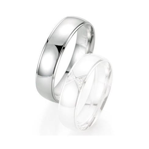 Alliance de mariage Breuning - Or gris 5.5mm - 1303404655G