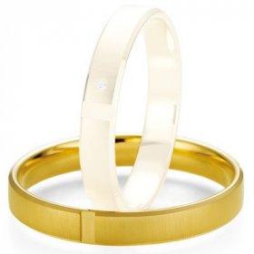 Alliance de mariage Breuning - Or jaune 3.5mm - 1303407435J