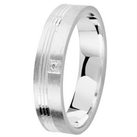 Alliance homme Diamant - 5,0