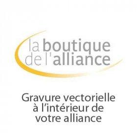 Services - Gravure vectorielle intérieur alliance