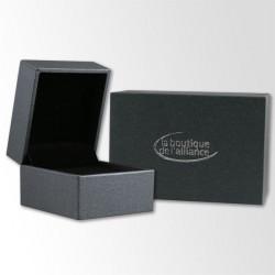 Alliance de mariage Breuning en Argent et Diamant - 13774259A