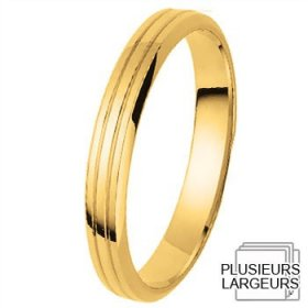 Alliance femme - Alliance de mariage Or jaune