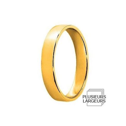 Alliance en Or jaune 04020993J - Boutique Alliance