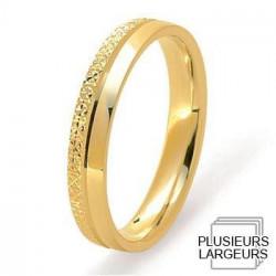 Alliance de mariage Or jaune 750