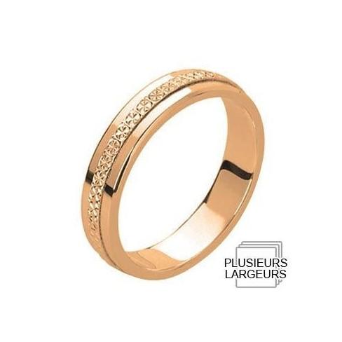 Alliance de mariage Or rose - 04030613R