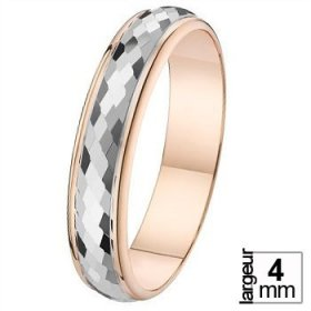 Alliance femme originale - Alliance de mariage 2 Ors