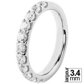 Alliance Diamant - Alliance de mariage Or...