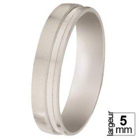 Alliances à moins de 400€ - Alliance de mariage Or blanc
