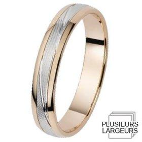 Voir toute la collection - Alliance de mariage 2 Ors