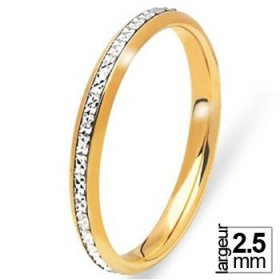 Alliance femme Or jaune - Alliance de mariage 2 Ors