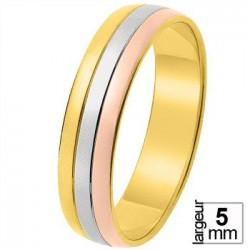Alliance de mariage 3 Ors 11030719T - Boutique Alliance