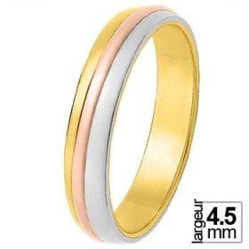 Alliance de mariage 3 Ors 750