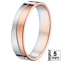 Alliance de mariage 2 Ors 750 - 07037123B