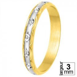 Alliance de mariage 2 Ors - 11030714