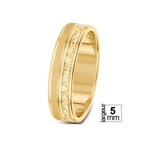 Alliance de mariage Or jaune - 07030236 - Boutique Alliance