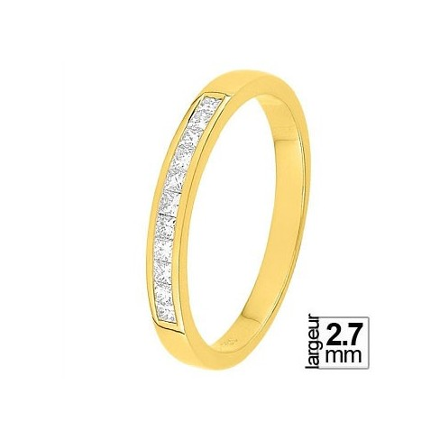 Alliance diamant et or jaune 11770741J - Boutique Alliance