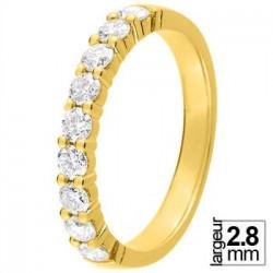 Alliance diamant et or jaune 11770925J - Boutique Alliance