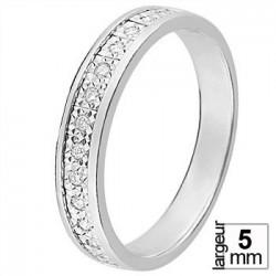 Alliance diamants et Or blanc - 11771592G - Boutique Alliance