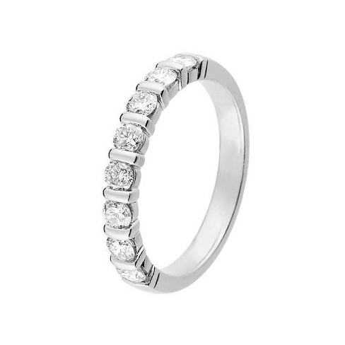 Alliance diamant et or blanc 11771589g - Boutique Alliance