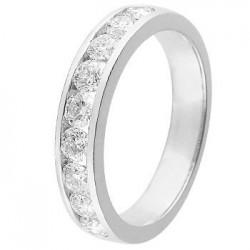 Alliance diamants et Or blanc 11770946G - Boutique Alliance
