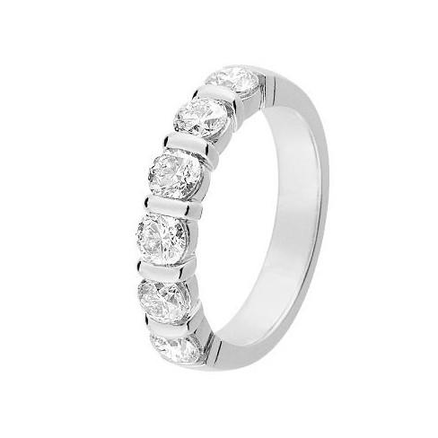 Alliance diamants et Or blanc 11770937G - Boutique Alliance