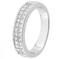 Alliance diamant et or blanc 11771498g - Boutique Alliance