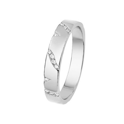 Alliance Diamants et Or blanc - 11770674G - Boutique Alliance