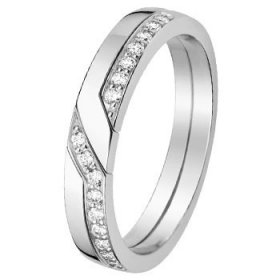 Alliance Diamant - Alliance de mariage Or...
