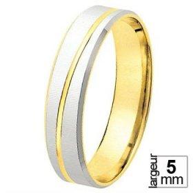 Les motifs lignes - Alliance de mariage 2 Ors