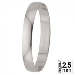 Alliance de Mariage Or blanc - 07020228